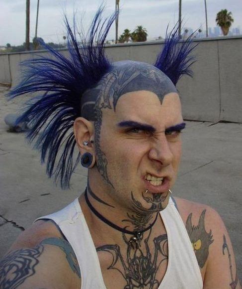 tattooed guy. weird-tattooed-guy-anth0nyc.